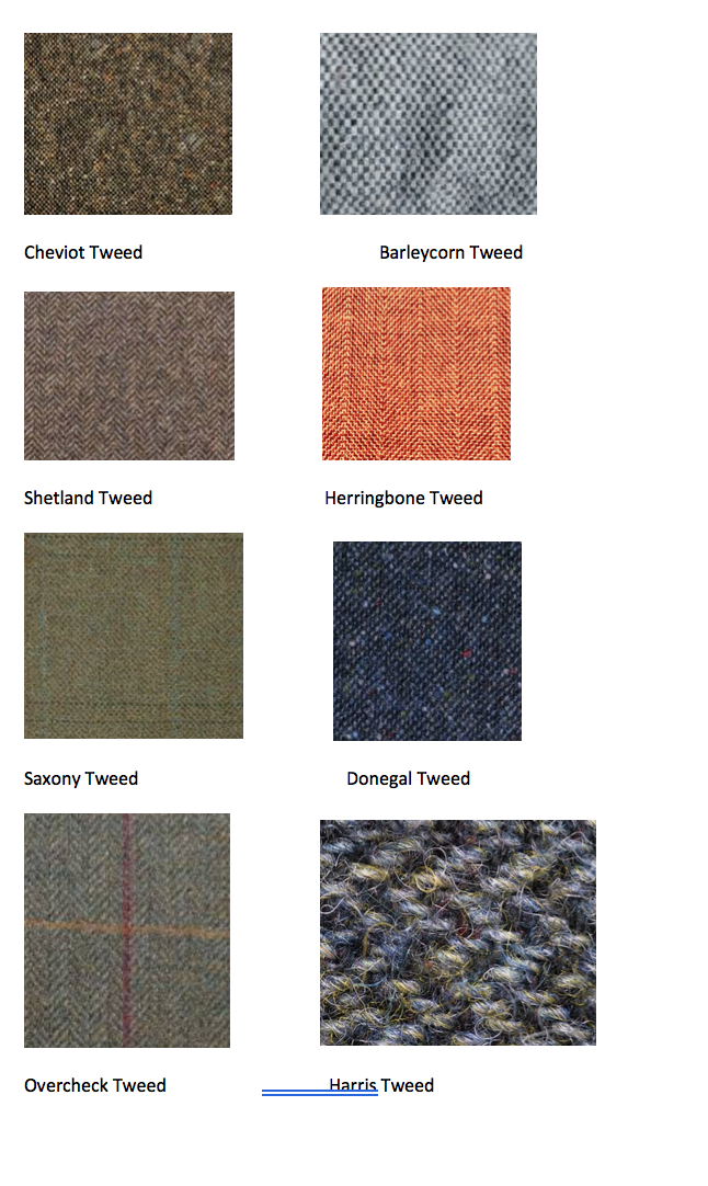 Tweed Samples